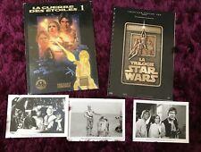 STAR WARS TRILOGY Dossier de presse 20x25 cm + 3 Photos + BD