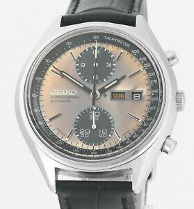 Vintage 1974 SEIKO Panda Chronograph 6138 8020 All Original Wrist Watch Tropic