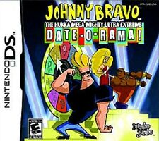Johnny Bravo The Hukka Mega Mighty Ultra Extreme Date-O-Rama! GAME Nintendo DS