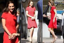 Lk Bennett Red Dress, Size 16,Dr Gail As Seen On
