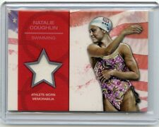 "2012 TOPPS USA OLYMPICS #OR-NC NATALIE COUGHLIN ""OLYMPIC TEAM RELIC"" - SWIMMING"