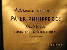 Rare Patek Philippe for Louis Wolfers Pere & fils pocket watch box,ca. 1890y
