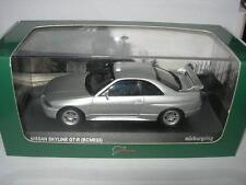 Kyosho 1:43 03341NU Nissan Skyline GT-R (BCNR33) Nurburgring Test Car NEW