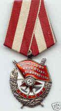 II WK ORIGINAL UdSSR Rotbannerorden Orden des Roten Banners
