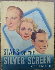 Vtg.Nestle Stars of the Silver Screen Vol-2 Trading Cards by Bemrose & Sons ltd