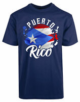 Puerto Rico Flag New Men's Shirt Authentic Summer Casual Personalized Gifts Tees