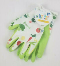 NWT Kids Gardening Gloves Veggies Fruits or Stripes Garden Many Sizes Ages 8+