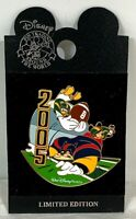 Walt Disney World Collectible Pin 2005 Mickey Mouse Pete Donald Duck Football