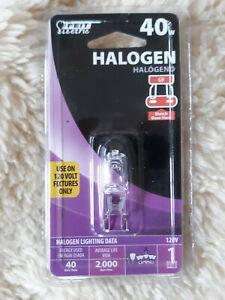 40W Halogen Bulb  G9 Base Feit Electric