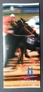 1986 KENTUCKY DERBY Program - FERDINAND - WILLIE SHOEMAKER