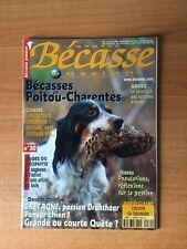 CHASSE BECASSE PASSION n° 30 : bécasses en Poitou-Charentes