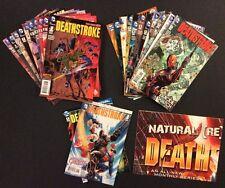 DEATHSTROKE #1 - 20 Comic Books COMPLETE DC New 52 Terminator GREEN ARROW TV ++