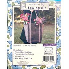 June Tailor WEEKENDER BAG SEWING KIT Easy Skill Level ~ New in Package