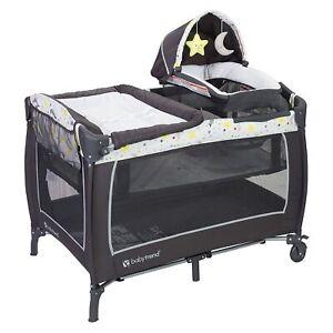 Baby Trend Lil Snooze Deluxe 2 Nursery Center, Twinkle Twinkle Moon - Brand New