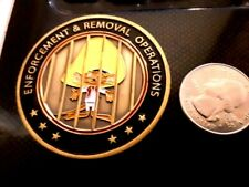 RARE PRESIDENT DONALD J. TRUMP REMOVAL OF ALIEN SPEEDY GONRALES CHALLENGE COIN