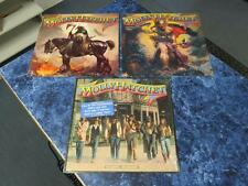 (3) Molly Hatchet LPs – Self Titled, Flirtin' With Disaster & No Guts No Glory