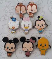 Disney Cute Character Baby Big Head Starter Set PWP Choose a Disney Pin