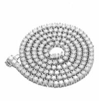 """DEAL! 17.47 CTW Round Diamond Eternity Tennis Necklace 16"""" SI/H 14KT White Gold"""