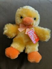 "Vintage Gotta Getta Gund Easter Fluffy Sunshine Chick 10"" Plush Stuffed Animal"