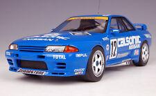 """1/18 AUTOart NISSAN SKYLINE GT-R (R32) GROUPE A 1993 """"CALSONIC"""" HOSHINO #12 -RAR"""