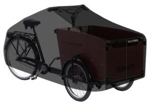 Transportrad Abdeckung DS Covers Cargo 3-Räder - Grau