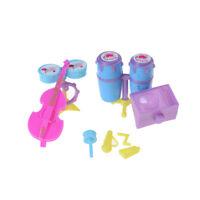 1Set  Doll Musical Toy Instrument Drum Kit Children Play Set Kids Gift 3C
