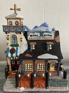 Lemax - Blue Marlin Seafood Grotto Vintage 2001 Village Collection