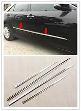 ABS Chrome Body Door Side Molding Cover Trim Garnish for 2015-2017 Toyota Camry