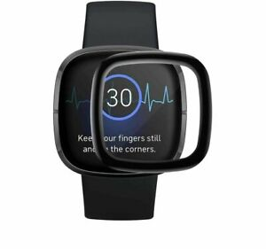 For Fitbit Sense Tempered Full Coverage Screen Protector SmartWatch
