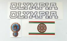 Olympia set of decals multiple choices vintage Italian