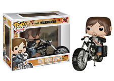 The Walking Dead Daryl Dixon with Chopper POP#08 Vinyl Vehicle (New) U.S. Seller