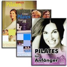 3 DVD Set - Pilates für Anfänger, Pilates Training und Pilates 50 Plus - Neu