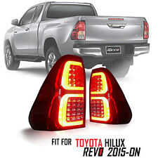 Red Clear Tail Lamp Tail Light Rear Led Fit For Toyota Hilux Pickup Revo 2015-ON