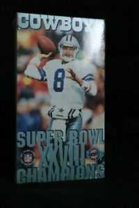 Dallas Cowboys Super Bowl XXVIII Champions VHS Video, Never Opened
