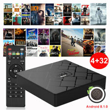 2019 New 4+32GB Android 8.1.0 Oreo Smart TV BOX Quad Core RK3328 WIFI USB 3.0 HD