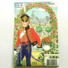 5.71 in CAVALIER Standing Paper Doll European Historical Costumes XVII - XX c.