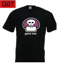 T-shirt End of the game super mario bros 1up backyard games