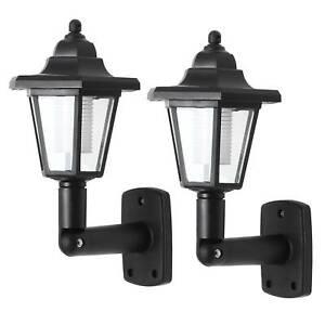 2pcs Traditional Outdoor Garden Wall Lights Lantern Coach Lighting Vintage Lamp