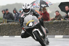 Robert Dunlop un-firmato 12x8 GLOSSY PHOTO. IOM TT. UGP. MOTO GP.