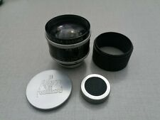 Kern Paillard Switar 50mm f1,4 C-Mount. With Lens Hood & Caps.