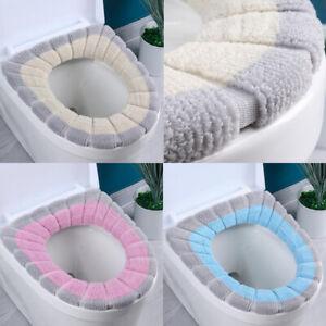 Comfortable Bathroom Toilet Seat Cover Winter Toilet Cover Closestool Mat Seat @