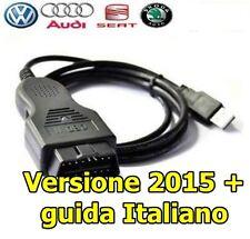 CAVO 2016 DIAGNOSI cavo VW GOLF 5 / 6 / 7 DIAGNOSI OBD2 CAN MANUALE ITALIANO