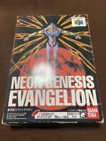 Eva N64 Neon Genesis EVANGELION Nintendo 64 Another ending Tested Working Boxed
