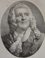 PIRON . Portrait, lithographie de 1821,