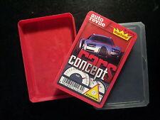 "Quartett ""Concept Cars"" der Auto Revue von Piatnik"