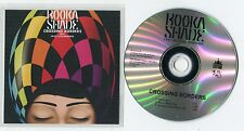 Booka Shade cd-PROMO CROSSING BORDERS feat FRITZ KALKBRENNER © 2014 EU-1-Track