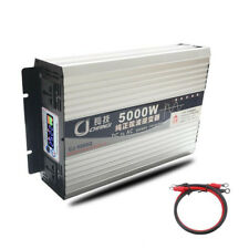 5000W Pure Sine Wave Power Inverter DC 12V to AC 110V / Battery Charger / LCD