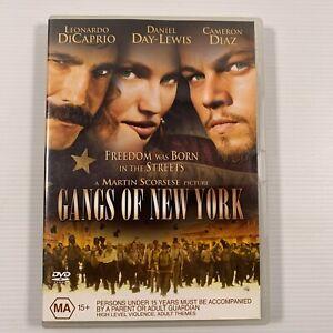 Gangs of New York (DVD 2005) Cameron Diaz Leonardo DiCaprio Region 4
