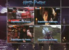 Harry Potter Stamps 2014 MNH Hogwarts Express Trains Railways Owls 4v M/S II
