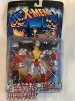 X-Men Colossus Super Punch Gaunlets Battle Brigade Marvel Comics figures